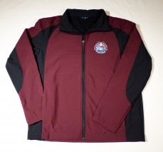 Maroon & Black Soft Shell Jacket